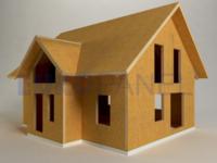 Model hrubé stavby Europanel