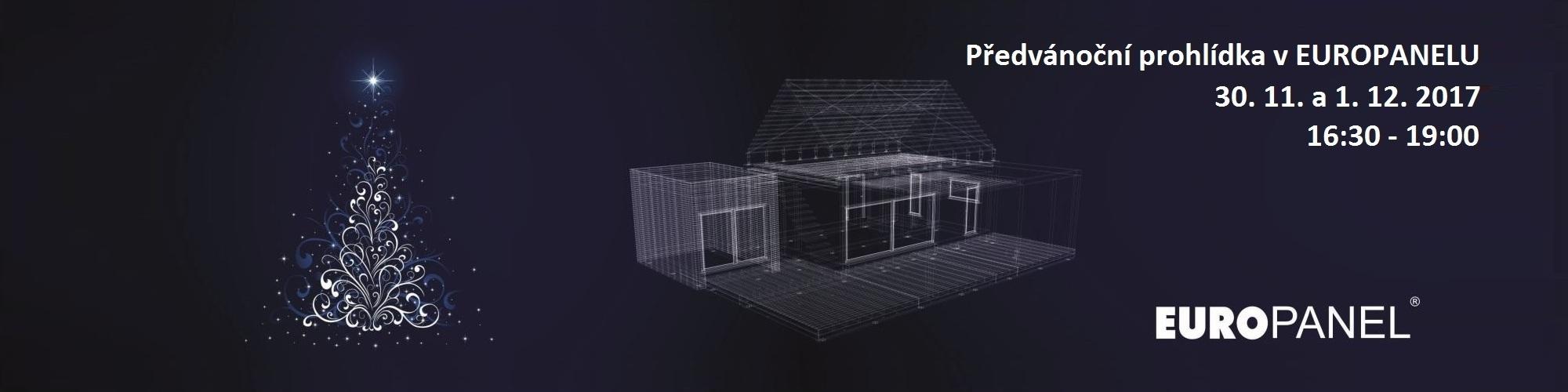 Předvánoční prohlídka v EUROPANELU, představení nového domu HANDY