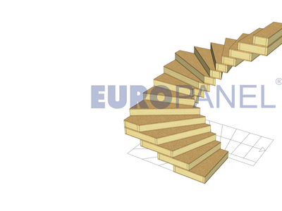 EUROPANEL staircase